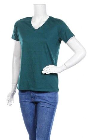 Дамска тениска Lands' End, Размер S, Цвят Зелен, Цена 8,66лв.