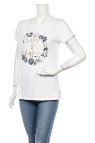 Дамска тениска Lee Cooper, Размер L, Цвят Бял, Памук, Цена 18,90лв.
