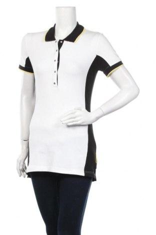 Дамска тениска Luhta, Размер S, Цвят Бял, 95% памук, 5% еластан, Цена 26,40лв.
