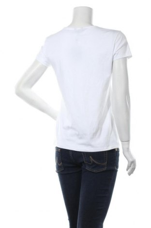 Дамска тениска Massimo Dutti, Размер XL, Цвят Бял, 92% памук, 8% еластан, Цена 17,15лв.
