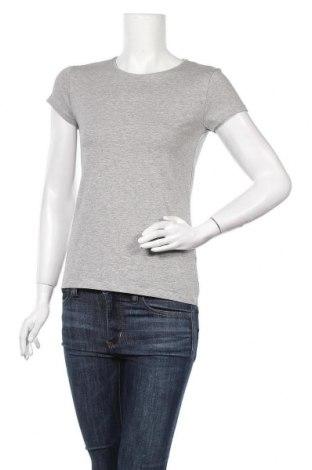 Дамска тениска Massimo Dutti, Размер M, Цвят Сив, 92% памук, 8% еластан, Цена 20,65лв.