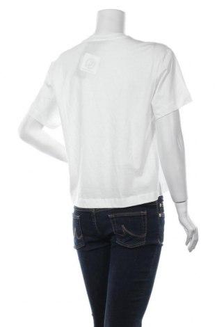 Дамска тениска Massimo Dutti, Размер S, Цвят Бял, Памук, Цена 16,72лв.