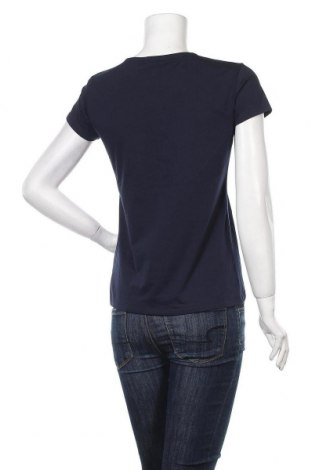 Дамска тениска Massimo Dutti, Размер L, Цвят Син, 92% памук, 8% еластан, Цена 14,75лв.