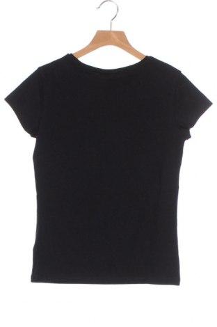 Дамска тениска Massimo Dutti, Размер XS, Цвят Черен, 92% памук, 8% еластан, Цена 20,65лв.