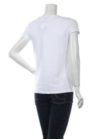 Дамска тениска Massimo Dutti, Размер L, Цвят Бял, 92% памук, 8% еластан, Цена 13,00лв.