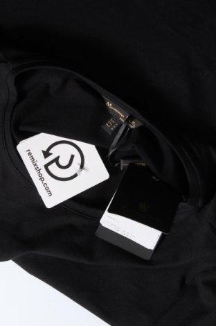 Дамска тениска Massimo Dutti, Размер M, Цвят Черен, 92% памук, 8% еластан, Цена 20,65лв.