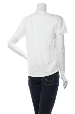 Дамска тениска Massimo Dutti, Размер XS, Цвят Бял, Памук, Цена 18,20лв.