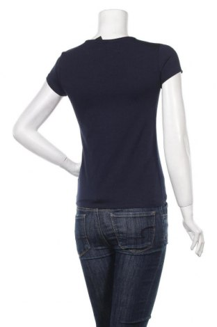 Дамска тениска Massimo Dutti, Размер S, Цвят Син, 92% памук, 8% еластан, Цена 14,75лв.