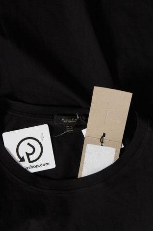Дамска тениска Massimo Dutti, Размер XS, Цвят Черен, Памук, Цена 14,75лв.