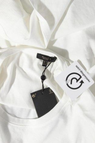 Дамска тениска Massimo Dutti, Размер S, Цвят Бял, Памук, Цена 14,75лв.