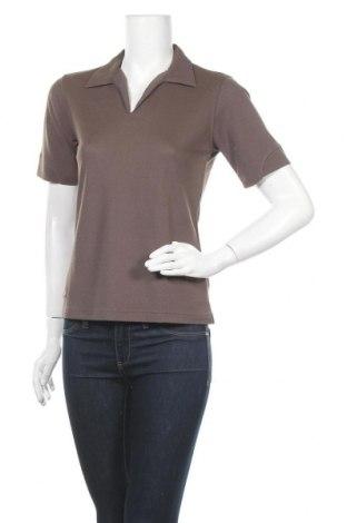 Дамска тениска Salewa, Размер M, Цвят Кафяв, 60% полиестер, 40% вискоза, Цена 27,41лв.