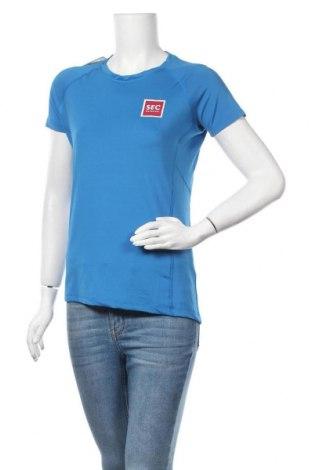 Дамска тениска Tee Jays, Размер S, Цвят Син, 95% полиестер, 5% еластан, Цена 5,36лв.