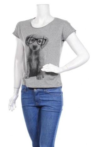 Дамска тениска Vero Moda, Размер S, Цвят Сив, 85% памук, 15% вискоза, Цена 11,00лв.