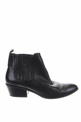 Γυναικεία μποτάκια Esprit, Μέγεθος 38, Χρώμα Μαύρο, Γνήσιο δέρμα, Τιμή 15,08€