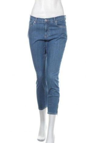 Дамски дънки Brax, Размер M, Цвят Син, 88% памук, 12% еластан, Цена 56,62лв.