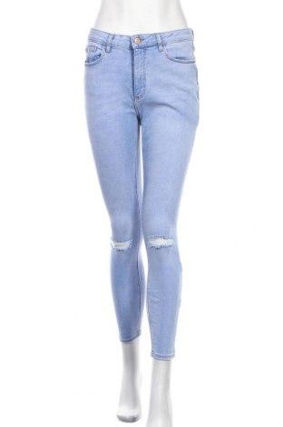 Дамски дънки Denim Co, Размер M, Цвят Син, 62% памук, 18% полиестер, 18% вискоза, 2% еластан, Цена 32,55лв.