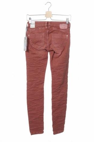 Дамски дънки Gang, Размер XXS, Цвят Розов, 98% памук, 2% еластан, Цена 12,72лв.