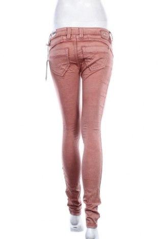Дамски дънки Gang, Размер S, Цвят Розов, 98% памук, 2% еластан, Цена 12,72лв.