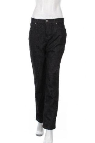 Дамски дънки Gloria Vanderbilt, Размер M, Цвят Сив, 77% памук, 21% полиестер, 2% еластан, Цена 16,75лв.