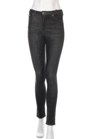 Дамски дънки H&M, Размер XS, Цвят Черен, 92% памук, 5% полиестер, 3% еластан, Цена 12,96лв.