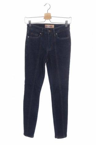 Дамски дънки Janina, Размер XS, Цвят Син, 98% памук, 2% еластан, Цена 29,40лв.
