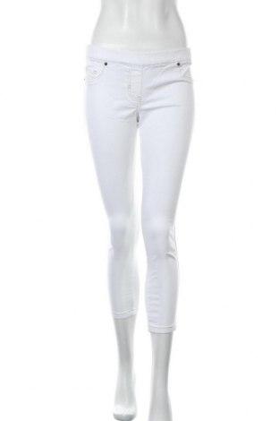 Дамски дънки Laura Scott, Размер S, Цвят Бял, 98% памук, 2% еластан, Цена 28,35лв.