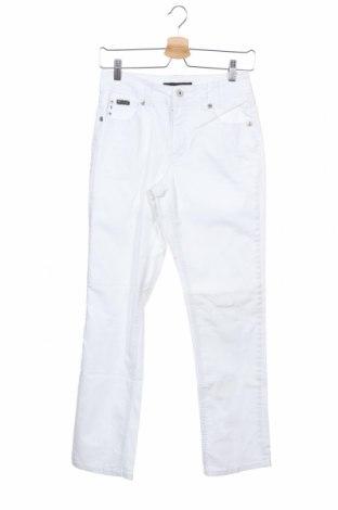 Дамски дънки Marc Lauge, Размер XS, Цвят Бял, 98% памук, 2% еластан, Цена 8,14лв.