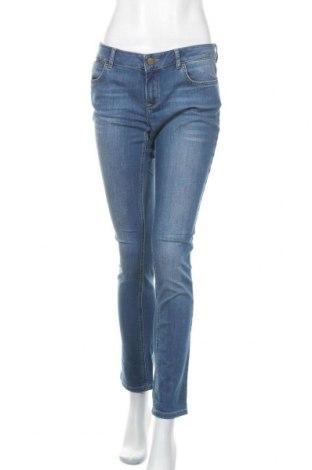 Γυναικείο Τζίν Massimo Dutti, Μέγεθος L, Χρώμα Μπλέ, 98% βαμβάκι, 2% ελαστάνη, Τιμή 21,82€