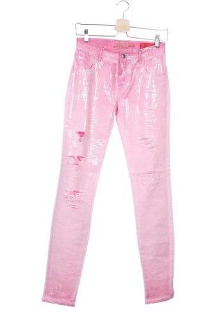 Дамски дънки Met, Размер S, Цвят Розов, 69% памук, 29% лиосел, 2% еластан, Цена 26,82лв.