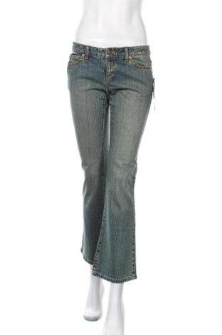 Дамски дънки Michael Kors, Размер M, Цвят Син, 99% памук, 1% еластан, Цена 44,36лв.
