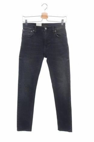 Дамски дънки Nudie Jeans Co, Размер XS, Цвят Син, 99% памук, 1% еластан, Цена 25,99лв.
