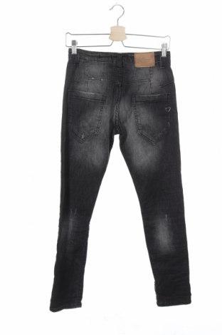 Дамски дънки Please, Размер XXS, Цвят Сив, 98% памук, 2% еластан, Цена 28,62лв.