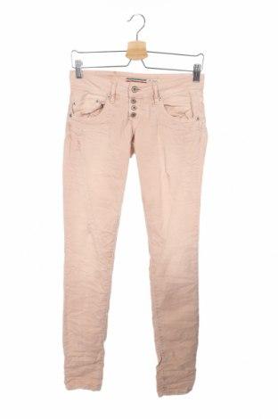 Дамски дънки Please, Размер XS, Цвят Розов, 98% памук, 2% еластан, Цена 26,82лв.