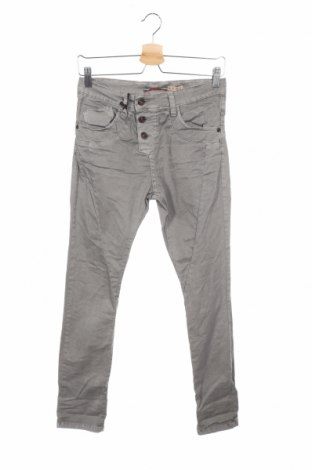 Дамски дънки Please, Размер XXS, Цвят Сив, 98% памук, 2% еластан, Цена 11,54лв.