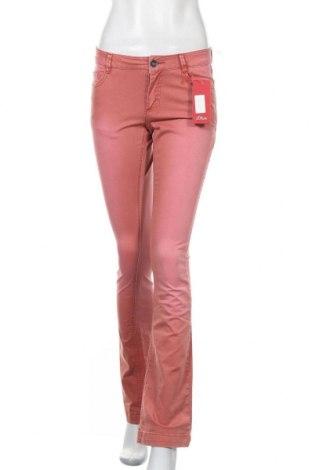 Дамски дънки S.Oliver, Размер S, Цвят Розов, 97% памук, 3% еластан, Цена 22,25лв.