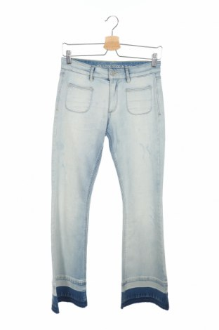 Дамски дънки S.Oliver, Размер XS, Цвят Син, 98% памук, 2% еластан, Цена 12,80лв.
