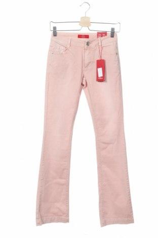 Дамски дънки S.Oliver, Размер XS, Цвят Розов, 97% памук, 3% еластан, Цена 22,25лв.