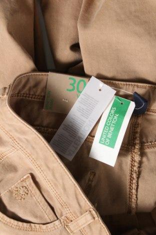 Дамски дънки United Colors Of Benetton, Размер M, Цвят Бежов, 92% памук, 8% еластан, Цена 26,70лв.