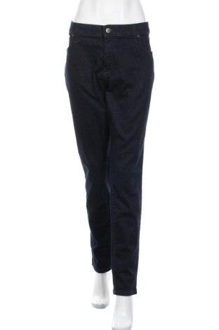 Дамски дънки Universal Thread, Размер XXL, Цвят Син, 90% памук, 7% полиестер, 3% еластан, Цена 23,10лв.