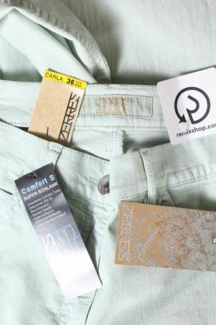 Дамски дънки Zerres, Размер S, Цвят Зелен, 75% памук, 23% полиестер, 2% еластан, Цена 19,32лв.