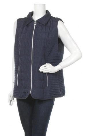 Γυναικείο γιλέκο Fabiani, Μέγεθος XL, Χρώμα Μπλέ, Πολυεστέρας, Τιμή 14,03€
