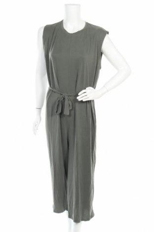 Дамски гащеризон Zara Trafaluc, Размер M, Цвят Зелен, 63% модал, 37% полиестер, Цена 35,60лв.