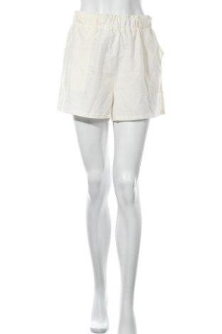 Γυναικείο κοντό παντελόνι, Μέγεθος M, Χρώμα Εκρού, 90% πολυεστέρας, 10% ελαστάνη, Τιμή 8,31€