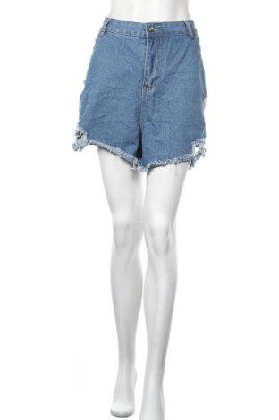Γυναικείο κοντό παντελόνι, Μέγεθος XL, Χρώμα Μπλέ, Τιμή 11,04€