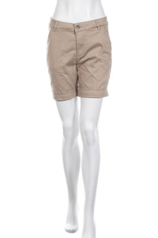 Γυναικείο κοντό παντελόνι, Μέγεθος S, Χρώμα  Μπέζ, 96% βαμβάκι, 4% ελαστάνη, Τιμή 5,46€
