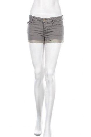 Γυναικείο κοντό παντελόνι, Μέγεθος S, Χρώμα Γκρί, 98% βαμβάκι, 2% ελαστάνη, Τιμή 9,55€