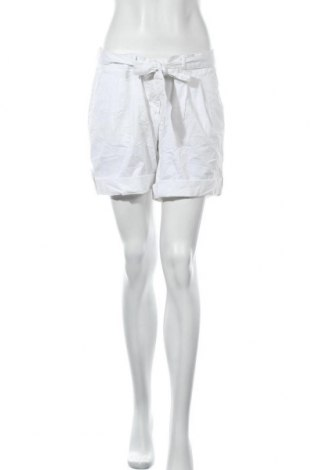 Γυναικείο κοντό παντελόνι Colours, Μέγεθος L, Χρώμα Λευκό, 98% βαμβάκι, 2% ελαστάνη, Τιμή 9,26€