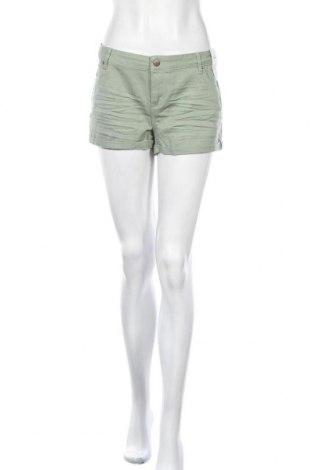Γυναικείο κοντό παντελόνι Denim Co, Μέγεθος XL, Χρώμα Πράσινο, 99% βαμβάκι, 1% ελαστάνη, Τιμή 11,43€