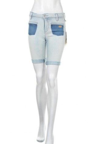 Γυναικείο κοντό παντελόνι Gang, Μέγεθος S, Χρώμα Μπλέ, 71% βαμβάκι, 27% πολυεστέρας, 2% ελαστάνη, Τιμή 26,61€