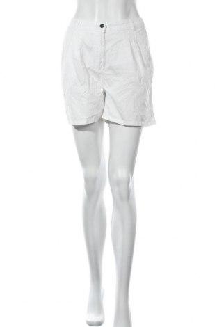 Γυναικείο κοντό παντελόνι H&M, Μέγεθος M, Χρώμα Λευκό, Βαμβάκι, Τιμή 5,23€